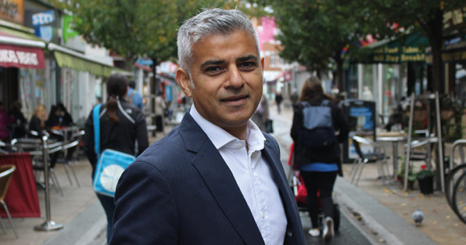 mayor london sadiq khan esol